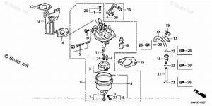 Honda Small Engine Parts Gx160 Oem Parts Diagram For Carburetor  3
