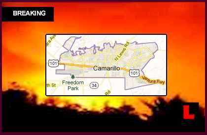 camarillo fire  springs fire advances  newbury