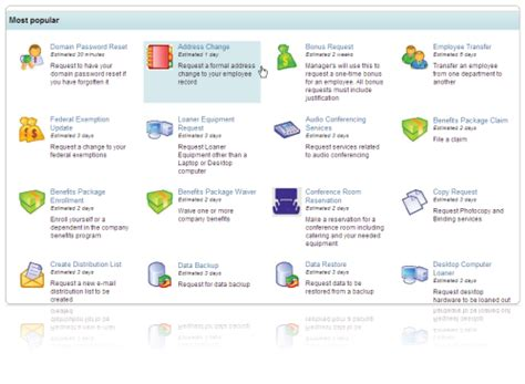 Optimus 5 Search  Image  It Service Catalog