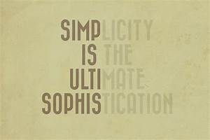 Simplicity, Is, The, Ultimate, Sophistication, By, Clomailen, On, Deviantart