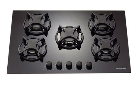 plaque de cuisson gaz plaque gaz rosieres rtv 750 fpn noir rtv750fpn 2069660 darty