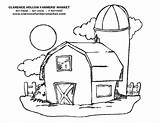 Coloring Barn Pages Country Cross Printable Print Simple Drawing Running Farm Barnyard Sheet Getdrawings Getcolorings Popular Adults Horse Animals Pag sketch template