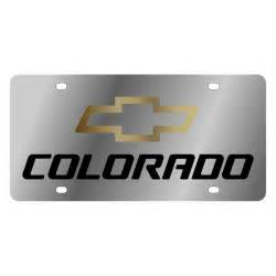 Chevy Colorado License Plate