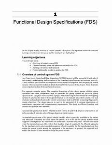 famous it functional specification template ideas resume With functional specification document template