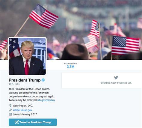 Baidena komanda spers neierastu soli un dzēsīs pašreizējos ASV prezidenta konta sekotājus ...