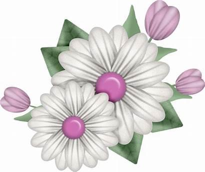 Flower Ribbon Bouquet Photoshop Clip Freebie Frame