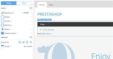 PrestaShop Hook Top Column - BillionAnswers