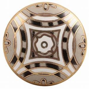 Bouton De Meuble Vintage : bouton de meuble art d co taupe vintage ~ Melissatoandfro.com Idées de Décoration