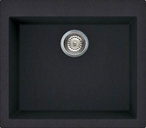 lavello fragranite nero lavello cucina 1 vasca nero eff fragranite elleci 57 cm