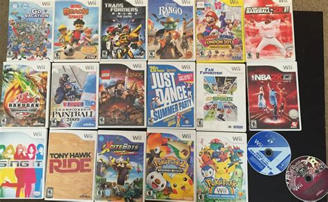 Wii Games For Sale Have Picture Buy Sell And Trade