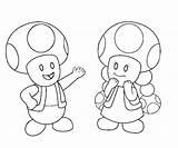 Toad Mario Coloring Super Luigi Coloriage Face Kleurplaat Toadette Clip Printable Dessin Imprimer Coloringhome Getcolorings sketch template