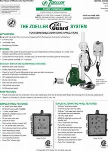 17028 1 Zoeller Oil Guard System Brochure User Manual