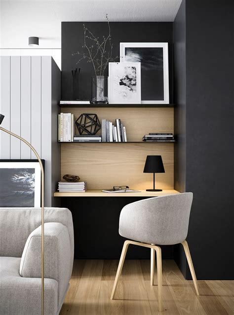 espace bureau dans salon 17 meilleures idées à propos de bureau bibliothèque sur