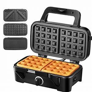 Waffeleisen Und Sandwichmaker : waffeleisen sandwichmaker 3 in 1 test vergleich hier ~ Watch28wear.com Haus und Dekorationen