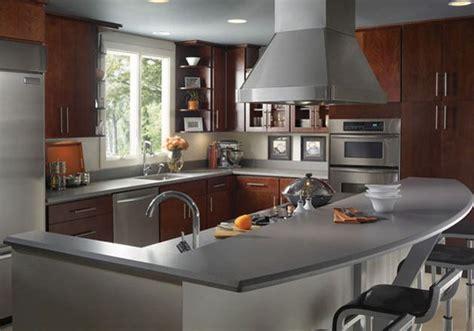 grey expo silestone quartz  warm cupboards light