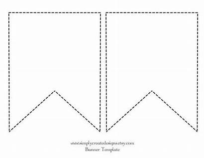 Banner Template Diy Paper Bunting Pennant Fabric