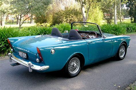 sold sunbeam alpine series 1 convertible auctions lot 2