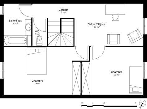 les chambres d une maison les installation d une maison de deux chambre maison moderne