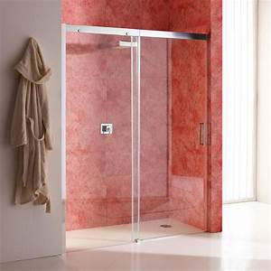 douche porte recess 130 cm modele dream side fixe gauche With porte douche 130 cm