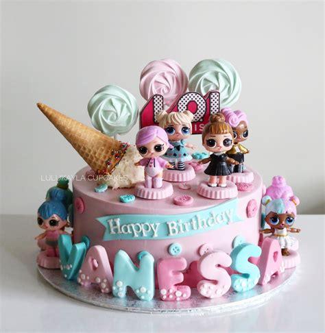 lol surprise cake buttercream cake   funny