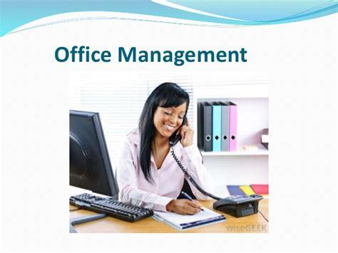 bureau am駭agement office management