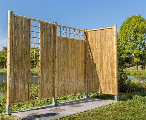 Garten Sichtschutz Oben by Bambus Sichtschutzzaun Mit Gitter Oben 180x120cm Kaufen