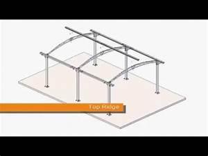 Palram 5000 Arcadia Carport Kit HG9100 YouTube