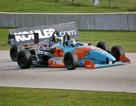 formula continental sports car club of america podium for armsup motorsports