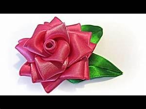17 Best images about flores de cintas on Pinterest