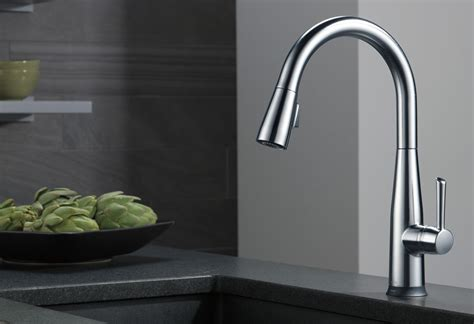 kitchen faucet pull kitchen faucets fixtures and kitchen accessories delta