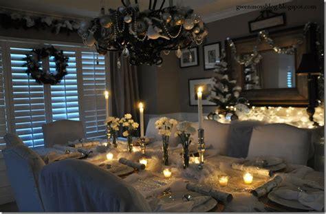 Gwen Moss My White Winter Wonderland Tablescapehow To