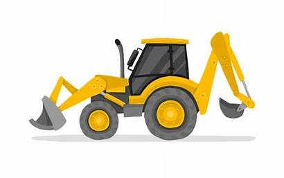 Digger Clipart Excavator Clipground Fire