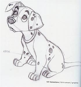 Dessin Fait Main : art concept des personnages 101 dalmatiens ~ Dallasstarsshop.com Idées de Décoration