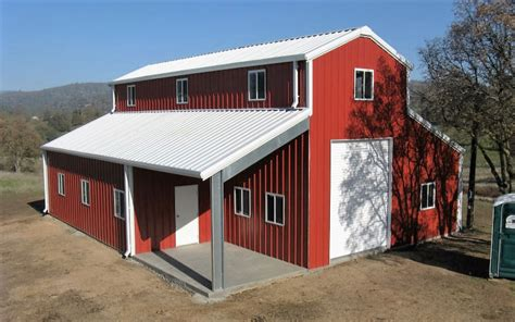 Metal Barn Home Building Kit