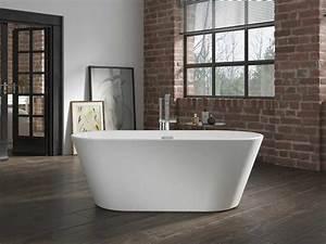 Freistehende Acryl Badewanne : freistehende badewanne madrid aus acryl wei gl nzend modern ~ Sanjose-hotels-ca.com Haus und Dekorationen