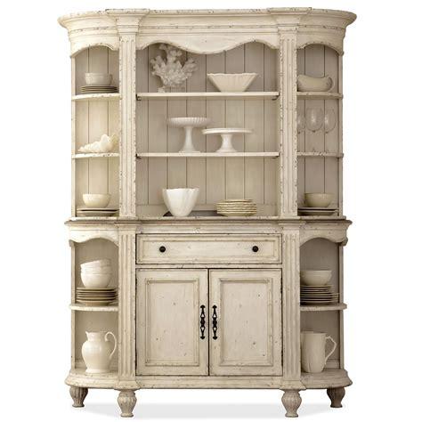 riverside furniture coventry  tone  door server hutch  plate grooved shelves ahfa