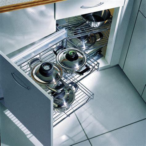 kitchen cabinet systems magic corner set with chrome wire baskets richelieu hardware 2801