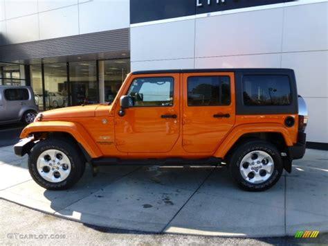 jeep wrangler orange 2017 crush orange 2013 jeep wrangler unlimited sahara 4x4