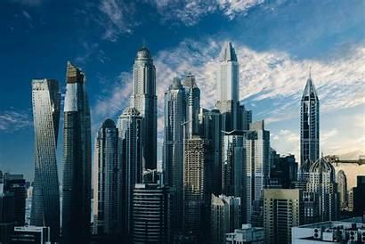 Buildings Skyscrapers Construction