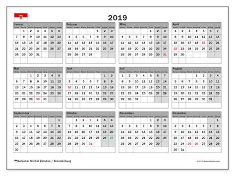kalender brandenburg deutschland michel zbinden de