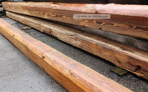 Holzbalken Behandeln by Holzbalken Alt Balken Geb 252 Rstet Behandelt Gegen