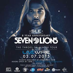 Seven Lions Tickets 03/07/15