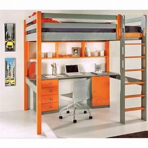 Lit Mezzanine 140x190 : lit mezzanine 120x190 ~ Melissatoandfro.com Idées de Décoration