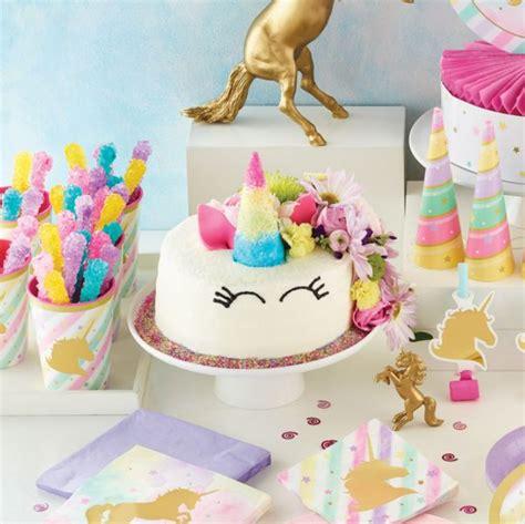 decoration licorne anniversaire