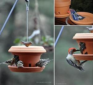 Vogelfutterspender Selber Bauen : 20 sorprendentes ideas con macetas de arcilla para decorar tu jard n ~ Whattoseeinmadrid.com Haus und Dekorationen