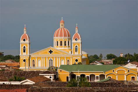 cities  visit  nicaragua granada  leon