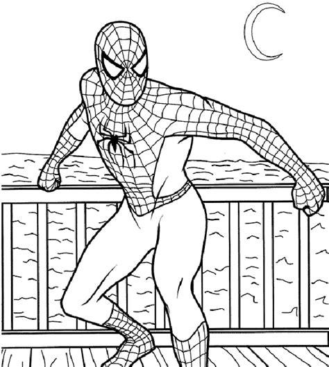 headlines magazine spiderman coloring pictures
