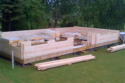 Log Cabin Building by Log Cabins Timber Frame Buildings Easypads