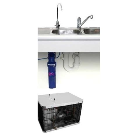 sink filtered water dispenser under sink chiller filtration system waddi springs