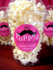 bridal showermaybe with kettle corn wedding bridal With cute wedding shower ideas